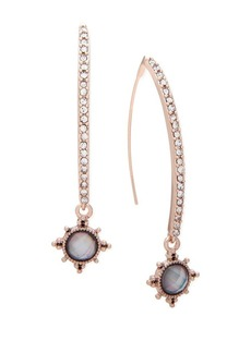 Jenny Packham Crystal Threader Drop Earrings