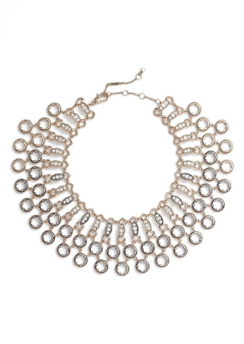 Jenny Packham Drama Torsade Collar Necklace