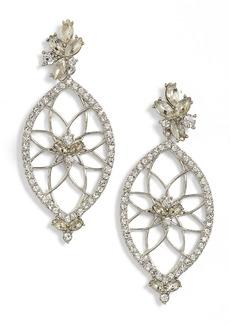 Jenny Packham Glistening Shadows Dream Catcher Drop Earrings