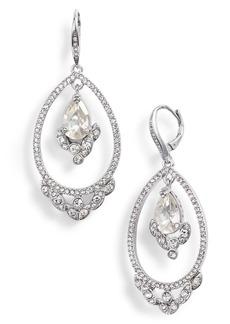Jenny Packham Orbital Crystal Drop Earrings
