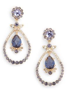 Jenny Packham Orbital Drop Earrings