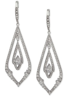 Jenny Packham Pave Chandelier Earrings
