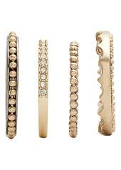 Jenny Packham Stack Ring Set