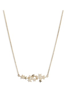 Jenny Packham Star Cluster Frontal Necklace