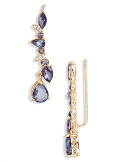 Jenny Packham Stone Crawler Earrings