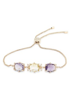 Jenny Packham Stone Slider Bracelet