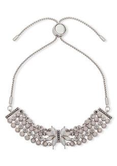 Jenny Packham White Opal and Crystal Slider Bracelet
