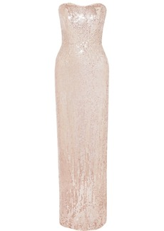Jenny Packham Mirabelle Sequined Tulle Gown