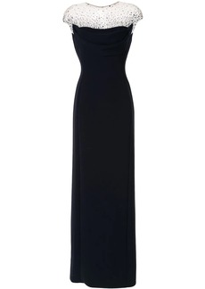 Jenny Packham Valentina embellished evening dress