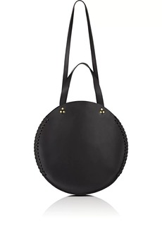 Jerome Dreyfuss Women's Hector Mini Leather Circle Bag - Black