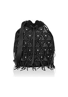 Jerome Dreyfuss Women's Popeye Large Leather & Suede Bucket Bag