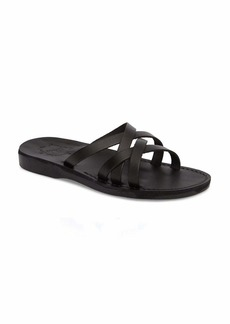 Jerusalem Sandals GAD - Leather Criss Cross Strap Sandal - Mens Sandals