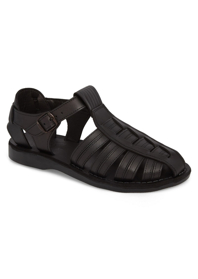 Jerusalem Sandals Barak Fisherman Sandal (Men)