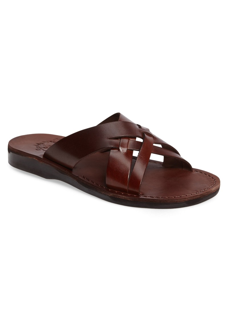 Jerusalem Sandals Jesse Slide Sandal (Men)