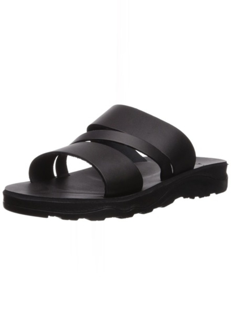 Jerusalem Sandals Men's Boaz Molded Footbed Slide Sandal  46 Medium EU ( US)
