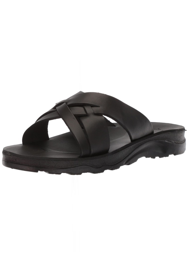 Jerusalem Sandals Men's Jesse Molded Footbed Slide  40 Medium EU ( US)