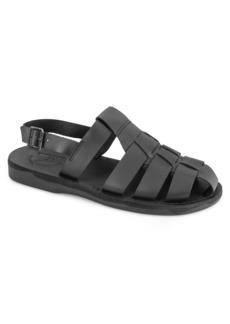 Jerusalem Sandals Michael Water Resistant Slingback Sandal (Men)