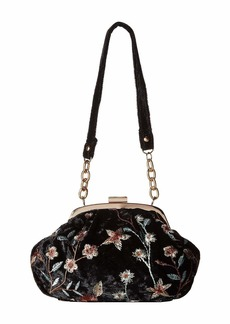 Jessica McClintock Ainsley Embroidered Pouch