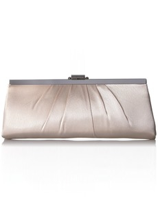 Jessica McClintock Blaire Satin Frame Evening Clutch