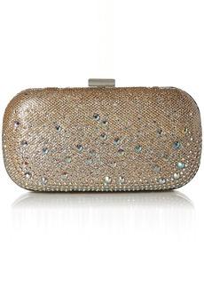 Jessica McClintock Emme Sparkle Stones Evening Clutch Minaudiere