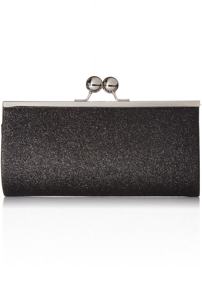 Jessica McClintock Laura Sparkle Framed Evening Clutch