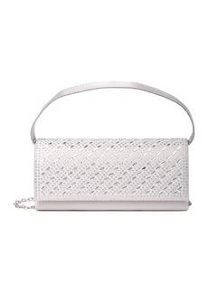Jessica McClintock Petra Embellished Pull-Handle Crossbody Clutch