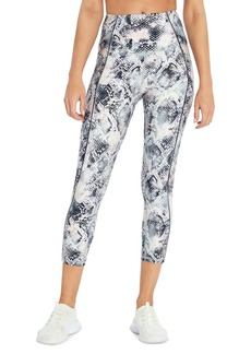 Jessica Simpson Ace Printed High Waisted Capri Leggings