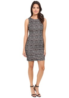Jessica Simpson Bonded Lace Dress