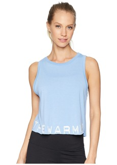Jessica Simpson Branded Cropped Tank Top