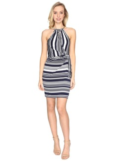 Jessica Simpson Bungee Faux Wrap Dress