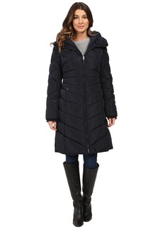 Jessica Simpson Chevron Quilted Down with Hood