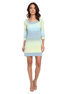 Jessica Simpson 3/4 Sleeve Ity Lattice Back