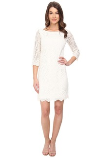 Jessica Simpson 3/4 Sleeve Lace Dress