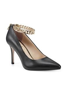Jessica Simpson Abrellia Curb Chain Ankle Strap Pump (Women)