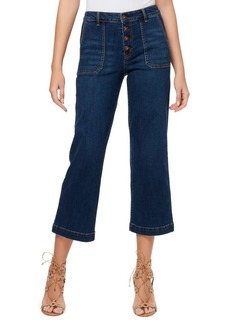 Jessica Simpson Adored High-Rise Wide Crop Jeans