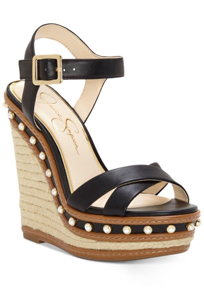 5dd8fb359921 On sale today jessica simpson jessica simpson aeralin wedge sandals jpg  800x1127 Jessica simpson tan wedges