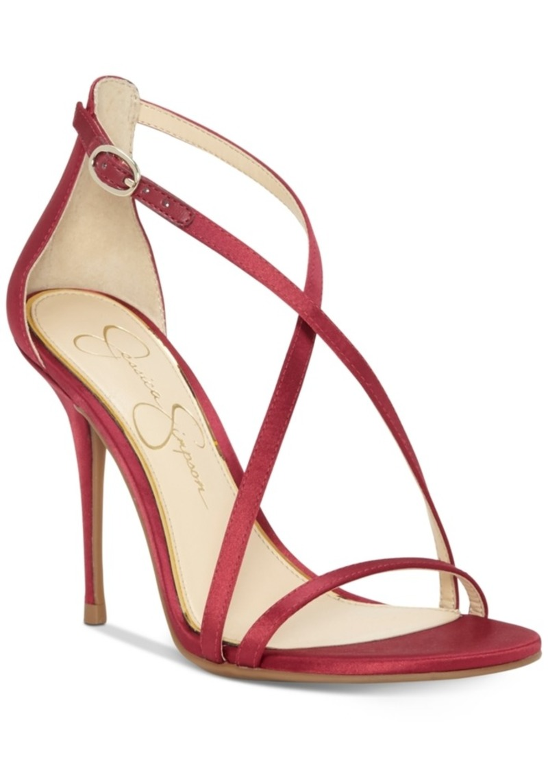 e4ed91d9fc3 Jessica Simpson Jessica Simpson Aisha Dress Sandals Women s Shoes ...