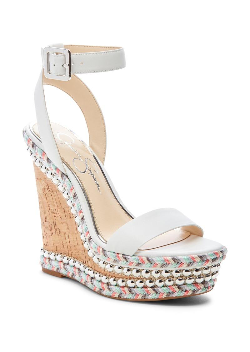 393adbf608c Alinda Embellished Wedge Sandal (Women)