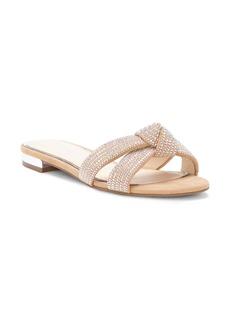 Jessica Simpson Alisen Crystal Embellished Slide Sandal (Women)
