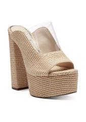 Jessica Simpson Annalyn Platform Slide Sandal (Women)