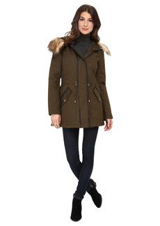 Jessica Simpson Anorak Parka with Faux Fur Trim