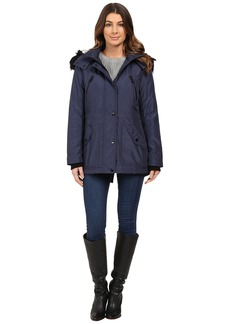Jessica Simpson Anorak Quilted Bonded w/ Hood and Faux Fur
