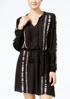 Jessica Simpson Arielle Embroidered Peasant Dress