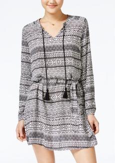 Jessica Simpson Arielle Printed Peasant Dress