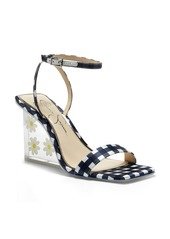 Jessica Simpson Aysie Ankle Strap Wedge Sandal (Women)