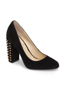 Jessica Simpson Bainer Block Heel Pump (Women)