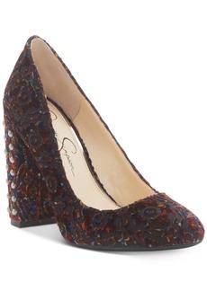 Jessica Simpson Bainer Block-Heel Pumps Women's Shoes