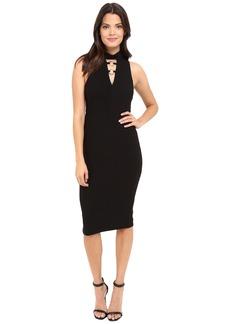 Jessica Simpson Bandage Knit Midi Dress