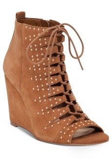 Jessica Simpson Barlett Lace-Up Booties Women's Shoes