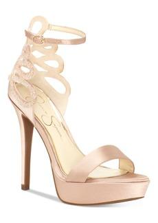 Jessica Simpson Bayvinn Platform Dress Sandals Women's Shoes
